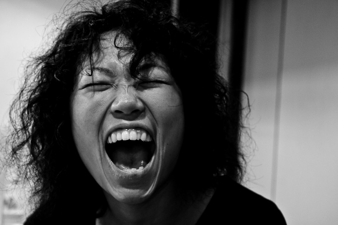 'girl laughing' from stephencummins.com, amasat.com, Chatter, Alpha Apps